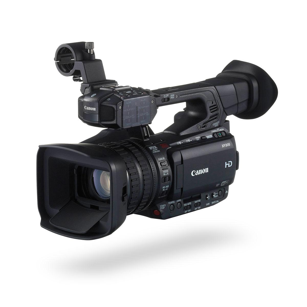 Canon XF205 HD Camcorder - Go Live Australia