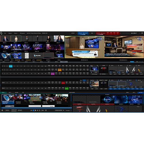 NewTek TriCaster Advanced Edition Digital Download - Go Live Australia