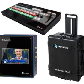 NewTek TriCaster Mini Advanced HD4 SDI Bundle - Go Live Australia