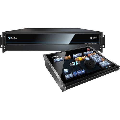 NewTek 3Play 3P1 Replay System with Control Surface - Go Live Australia
