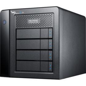 Promise 12TB Pegasus2 R4 Thunderbolt 2 RAID Storage Array - Go Live Australia