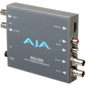 AJA ROI-SDI 3G-SDI to HDMI/3G-SDI Scan Converter - Go Live Australia