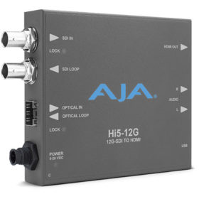 AJA HI5-12G 12G-SDI TO HDMI - Go Live Australia